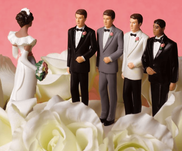 woman with many husbands